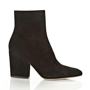 Alexander Wang Black block heel ankle boots 8